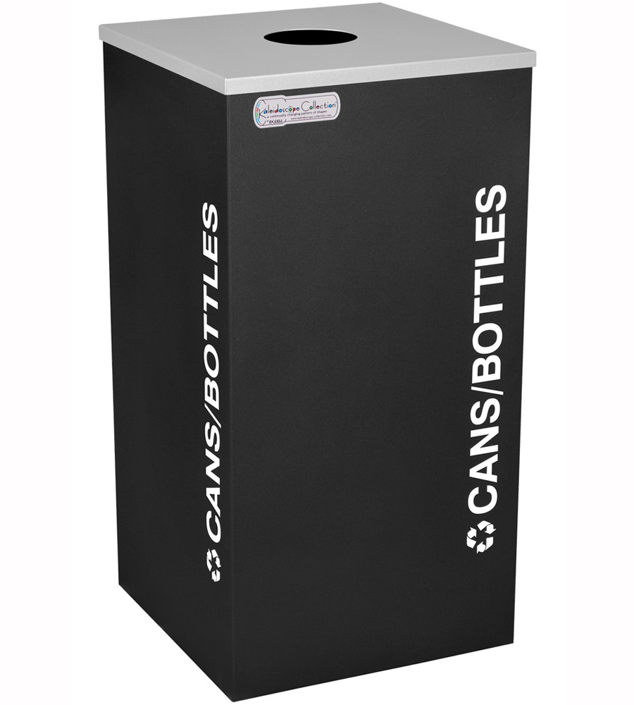 square recycling bin cans and bottles price