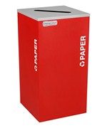 Square Recycling Bin - Paper