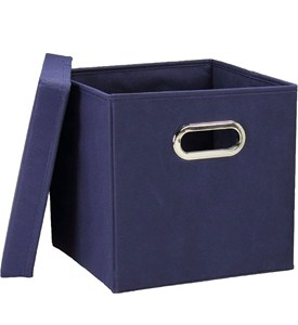 Square Storage Boxes (Set of 2) Image