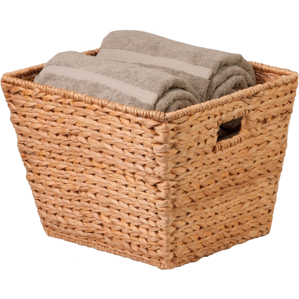 Next Woven Basket : Square wicker basket in baskets