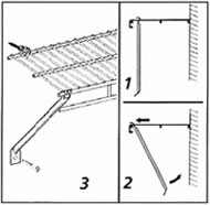 Shelf Support Brace