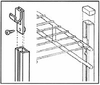 Shelf Support Pole