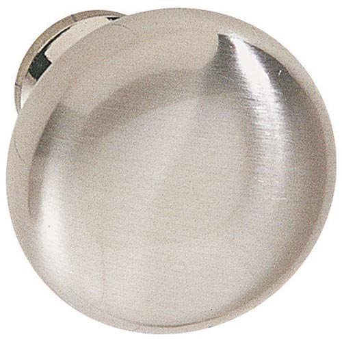 Round Cabinet Knob Brushed Stainless Steel In Cabinet Hardware