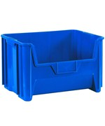 Stackable Bin Container set of 3 - for stacking and storage