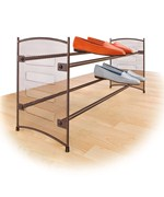 Stackable Expanding Shoe Rack - Bronze