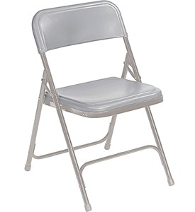 Metal Folding Chairs (Set of 4) Image