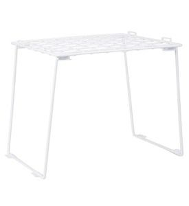 Stackable Locker Shelf - White Image