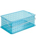 Stackable Plastic Storage Basket