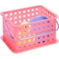Stackable Plastic Storage Baskets - Small