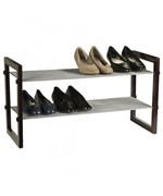 Stackable Shoe Rack - 2 Tier