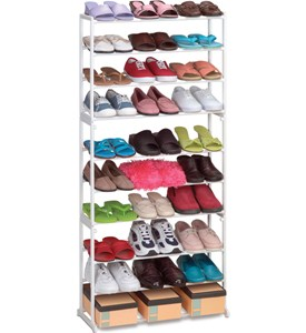 Stackable Shoe Rack - 30 Pair Image