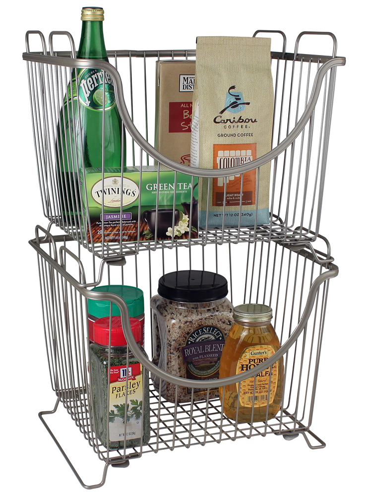 Stackable Storage Bin · Stacking Wire Basket ...