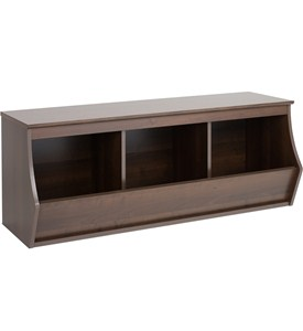 Stackable Storage Cubby - Fremont - Three Bin Image