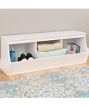 Stackable Storage Cubby - Monterey - Three Bin