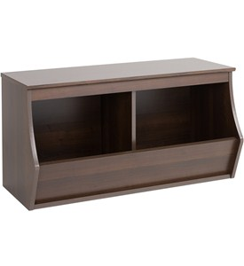 Stackable Storage Cubby - Two Bin - Fremont Image