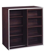Stackable Storage Cubes - Quad Cube with Sliding Shelf - 30 Inch