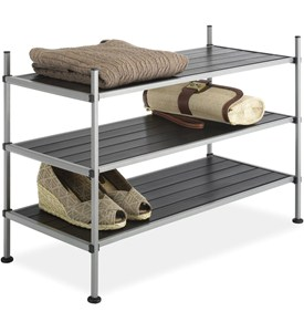 Stackable Storage Shelves Image