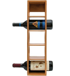 Stackable Wine Rack - Bamboo Image