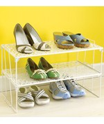 Stacking Shoe Rack - Scrolling Vine