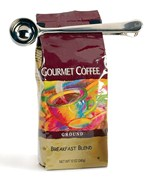 Stainless Coffee Scoop and Bag Clip