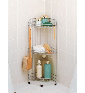 Stainless Steel Corner Shower Caddy Image