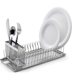 Stainless Steel Dish Drainer Image