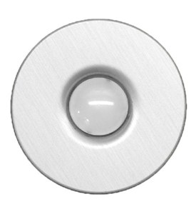 Stainless Steel Doorbell Button Image