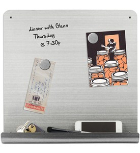 Stainless Steel Dry-Erase Board Image