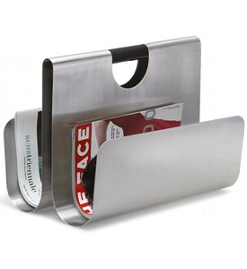 Stainless Steel Magazine Holder Image