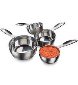 Stainless Steel Measuring Cups Image