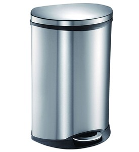 50L Stainless Steel Pedal Trash Can Image