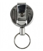 Retractable Key Chain - Stainless Steel