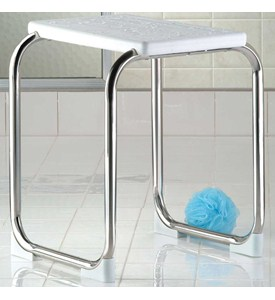 Stainless Steel Shower Bench Image