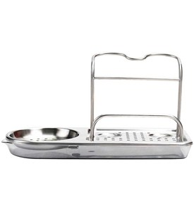 OXO Stainless Steel Sink Organizer Image