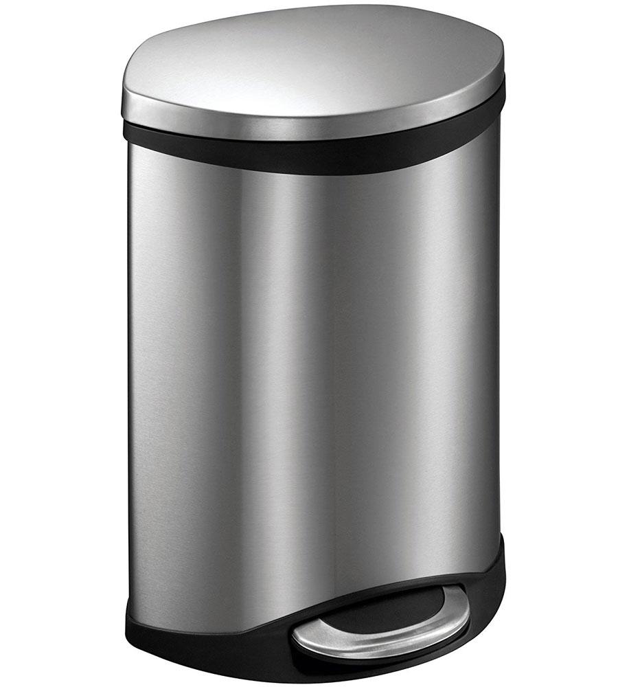 ... Step Trash Bin   Stainless Steel 6L · Mesh Waste Basket
