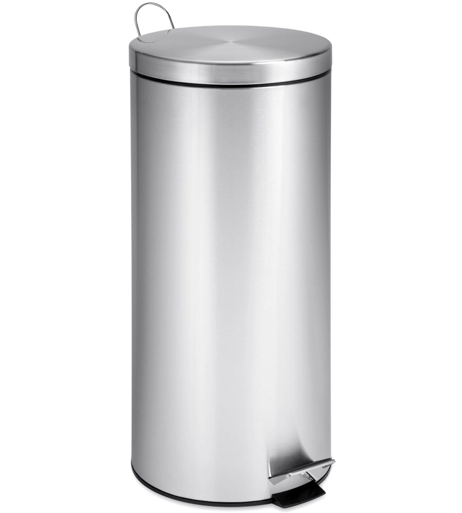 Stainless Steel Step Trash Can 30 Liter In Stainless