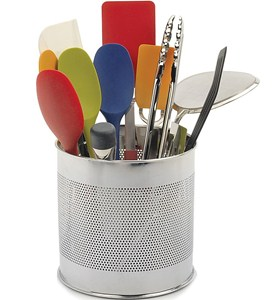Stainless Steel Utensil Caddy Image
