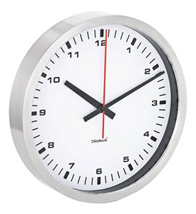 Stainless Steel Wall Clock Image