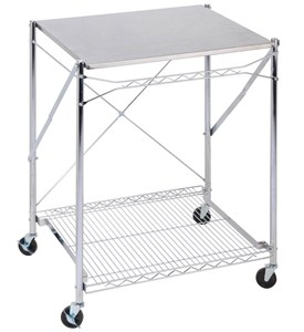 Stainless Steel Folding Utility Table Image