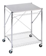 Stainless Steel Folding Utility Table