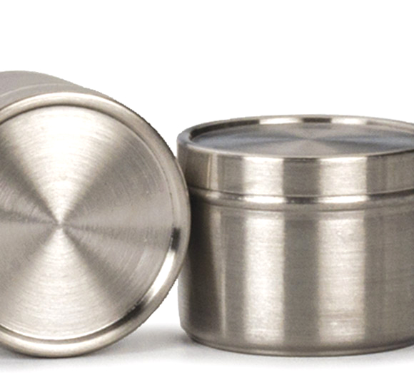 Stainless Steel Tin In Spice Containers