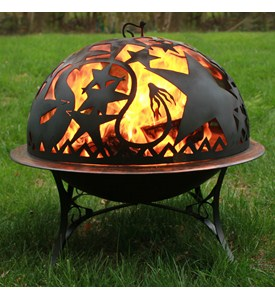 Standing Fire Pit - Orion Fire Image