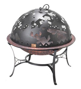Standing Fire Pit - Starry Night Image