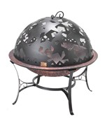 Standing Fire Pit - Starry Night