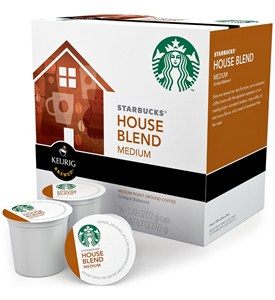 Starbucks K-Cups - House Blend (Set of 16) Image