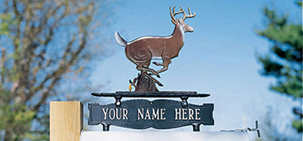 Whitehall Address Sign Ornaments