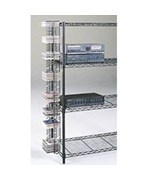 Steel CD Tower - holds 40 single and 4 Double Cases