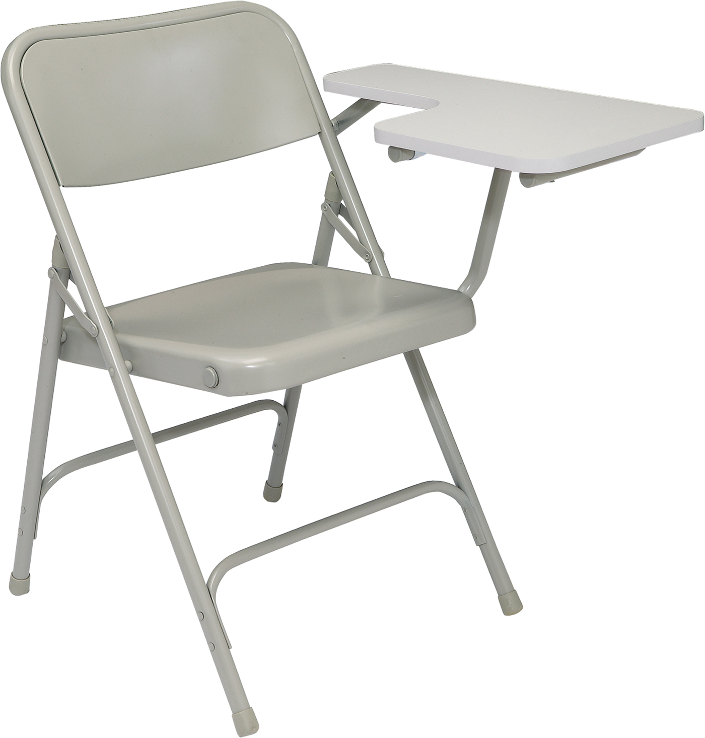 Steel Chair with Folding Tablet Arm in Kids Desks