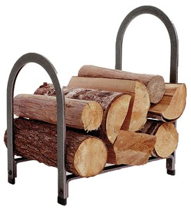 Steel Offset Arch Log Rack Image