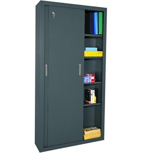 Steel Storage Cabinet - 72 Inch High Image